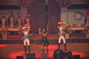 Bühnen Spektakel auf der Oecher Fastelovvendschau