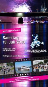 Informationen zum Event Kölner Feuerwerk am 13.07.2019