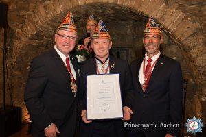 Michael Reul mit dem Verdienstorden in Silber ausgezeichnet
