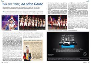 Wo ein Prinz, da seine Garde – Stadt Magazin Bad Aachen