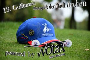 """19. Golfturnier der Prinzengarde der Stadt Aachen powered by """"Wotax der Berater"""""""